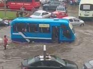 فيديو لأمطار غزيرة بمصر.. سيارات غارقة ومواطنون يسبحون