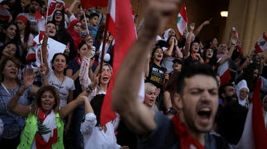 """حراك لبنان يدشن أسبوعه الأول.. """"حناجر المحتجين لم تكل"""""""