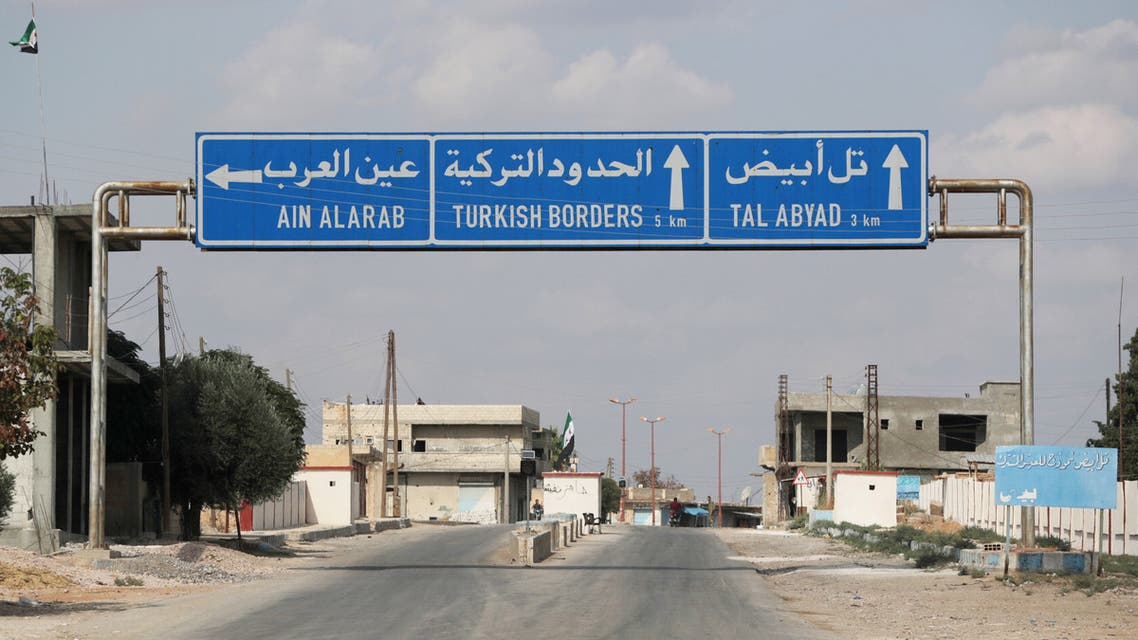 الحدود السورية التركية(رويترز)