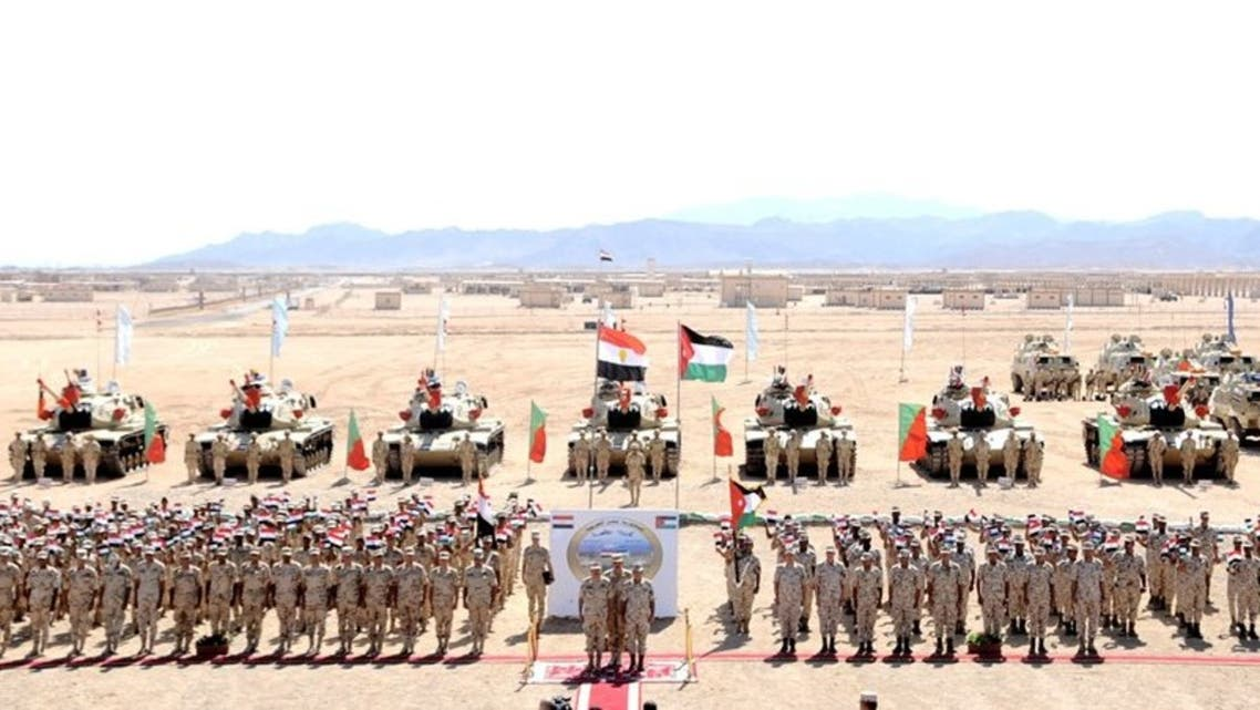 مناورات مصرية أردنية