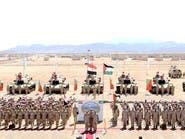 مناورات مصرية أردنية مشتركة في البحر الأحمر