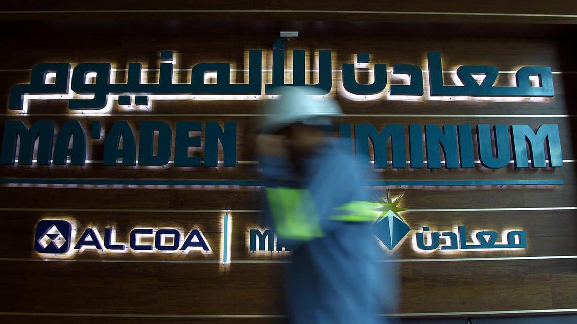 A Saudi labourer walks at Maaden Aluminium in Ras Al Khair, Saudi Arabia May 22, 2016. REUTERS/Faisal Al Nasser