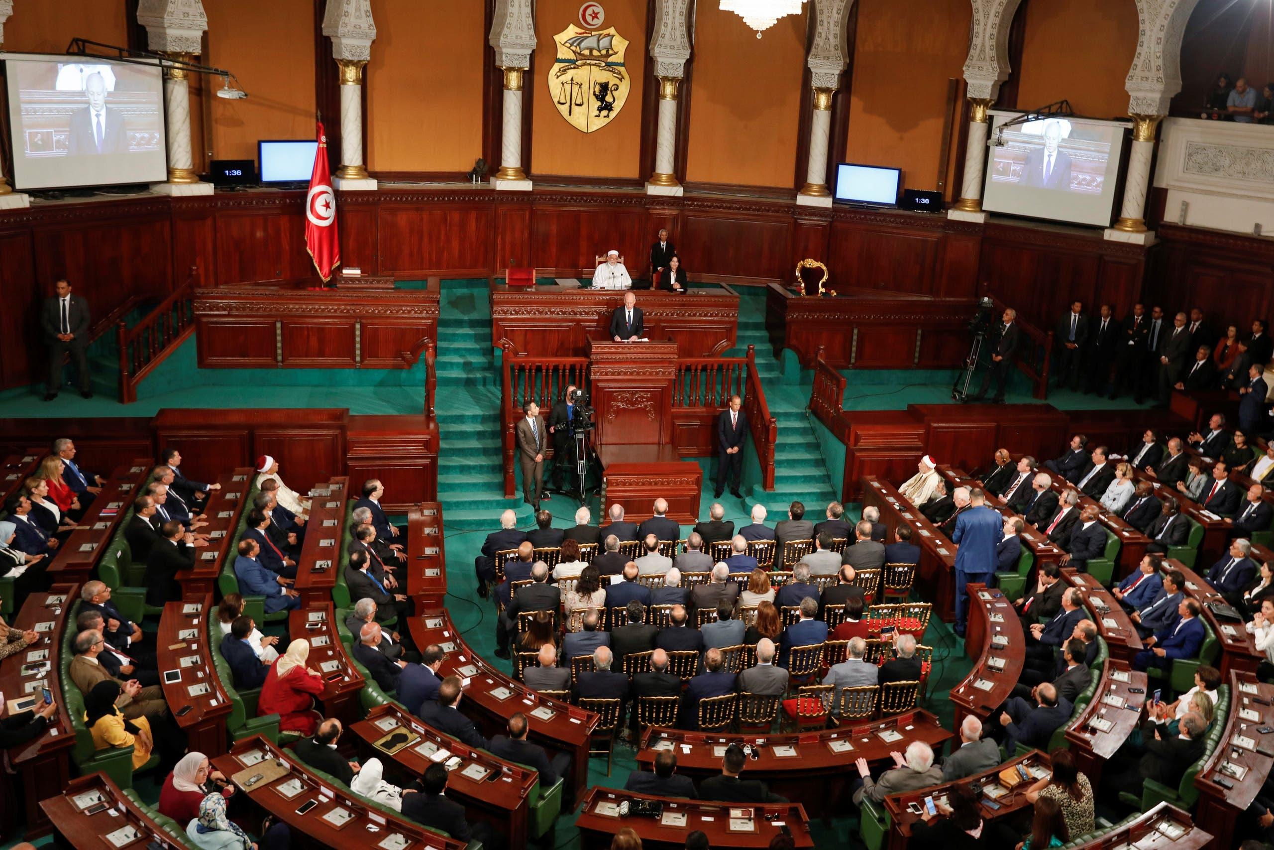 من البرلمان التونسي (فرانس برس)
