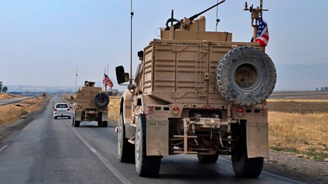 آليات عسكرية أميركية تغادر سوريا