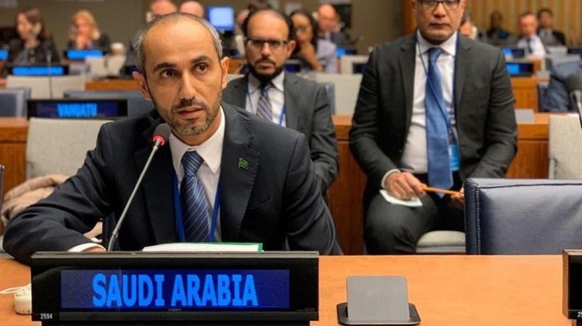 عضو وفد المملكة الدائم لدى الأمم المتحدة سكرتير أول محمد القحطاني