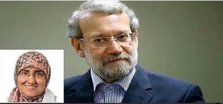 ابنة علي لاريجاني، رئيس البرلمان الإيراني، ه فاطمة أردشير لاريجاني، تدرس الطب  في مستشفيات جامعة كليفلاند الاميركية