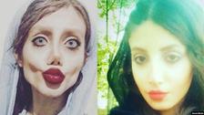 """جديد شبيهة أنجلينا جولي.. """"اعترافات"""" على تلفزيون إيران"""