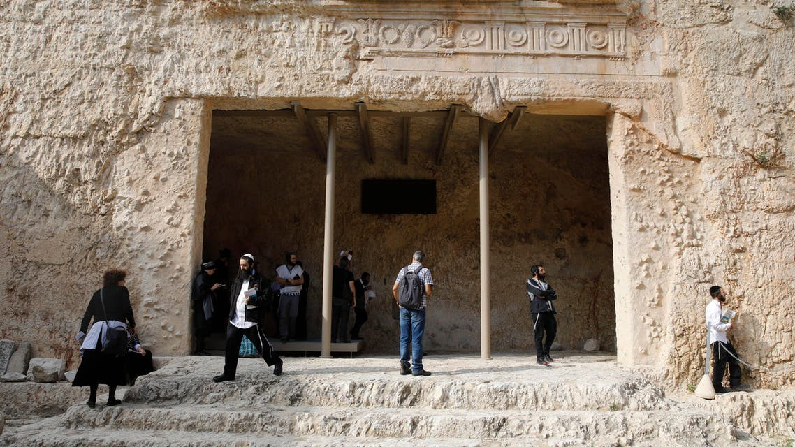 Tombs of the Kings, a 2,000-year-old archaeological gem in the heart of Jerusalem owned by France, as it reopens for the public for a second time in six months. (AFP)