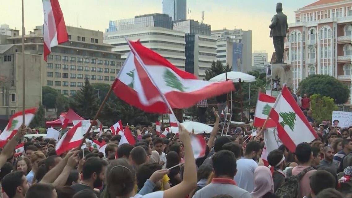 عون يخاطب اللبنانيين اليوم والاحتجاجات تدخل يومها الثامن