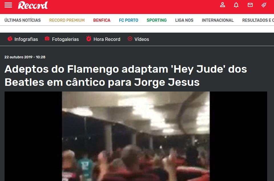 ضوئية من ريكورد البرتغالية وخبر أغنية بيتلز