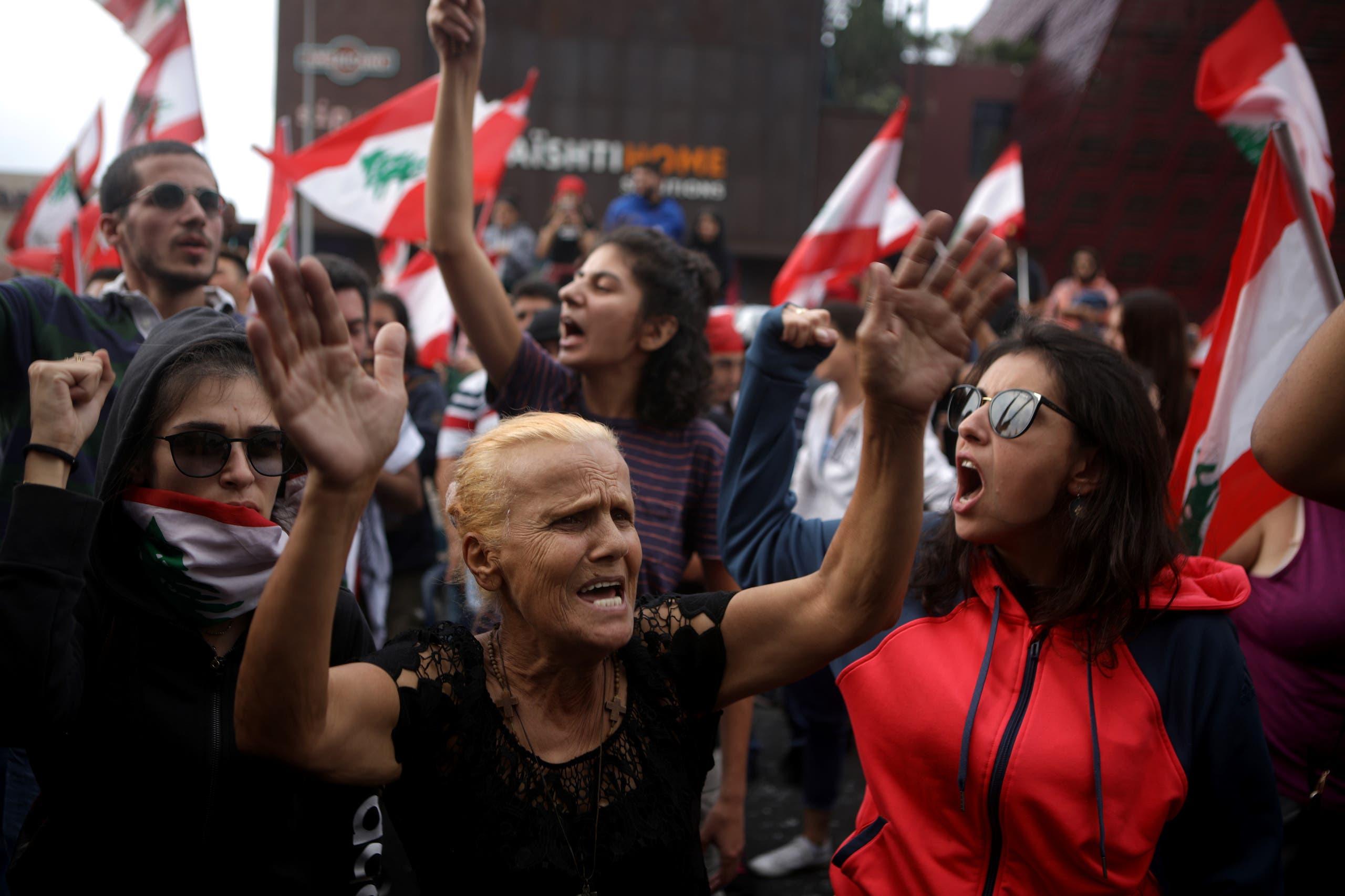 من وسط بيروت(فرانس برس)