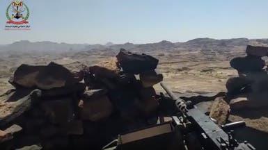 شاهد الجيش اليمني يدك مخابئ وتحصينات الحوثيين في صعدة