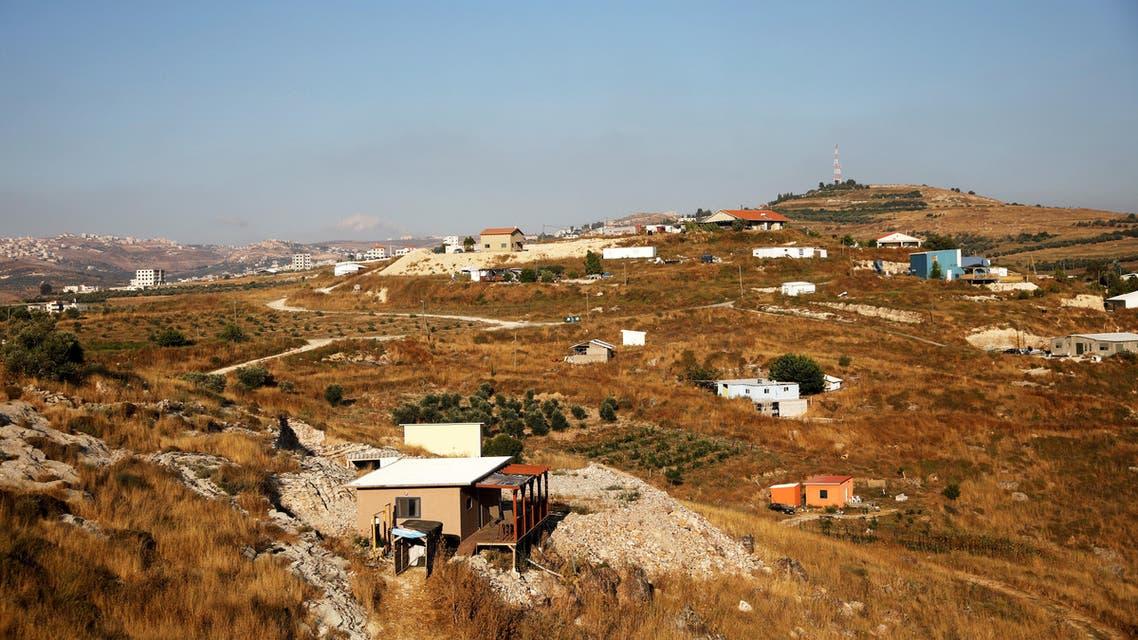 West Bank panorama - AP