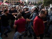 الاحتجاجات مستمرة في لبنان رغم الاشتباكات مع حزب الله