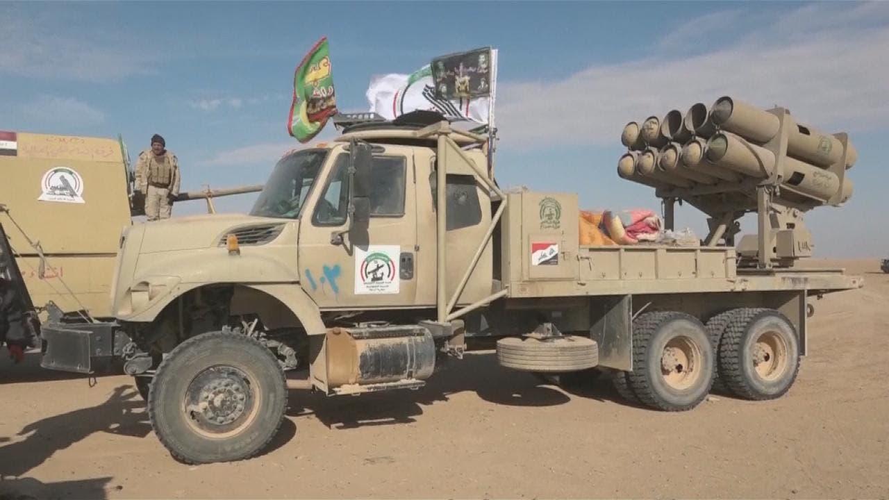 شبهنظامیان وابسته به سپاه پاسداران ایران در عراق