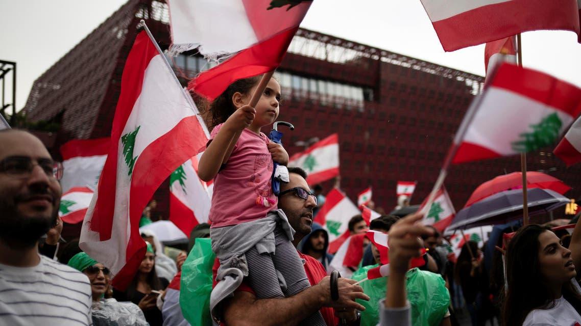 Lebanon protests in Jal El Dib Lebanon Thursday October 24 - Reuters