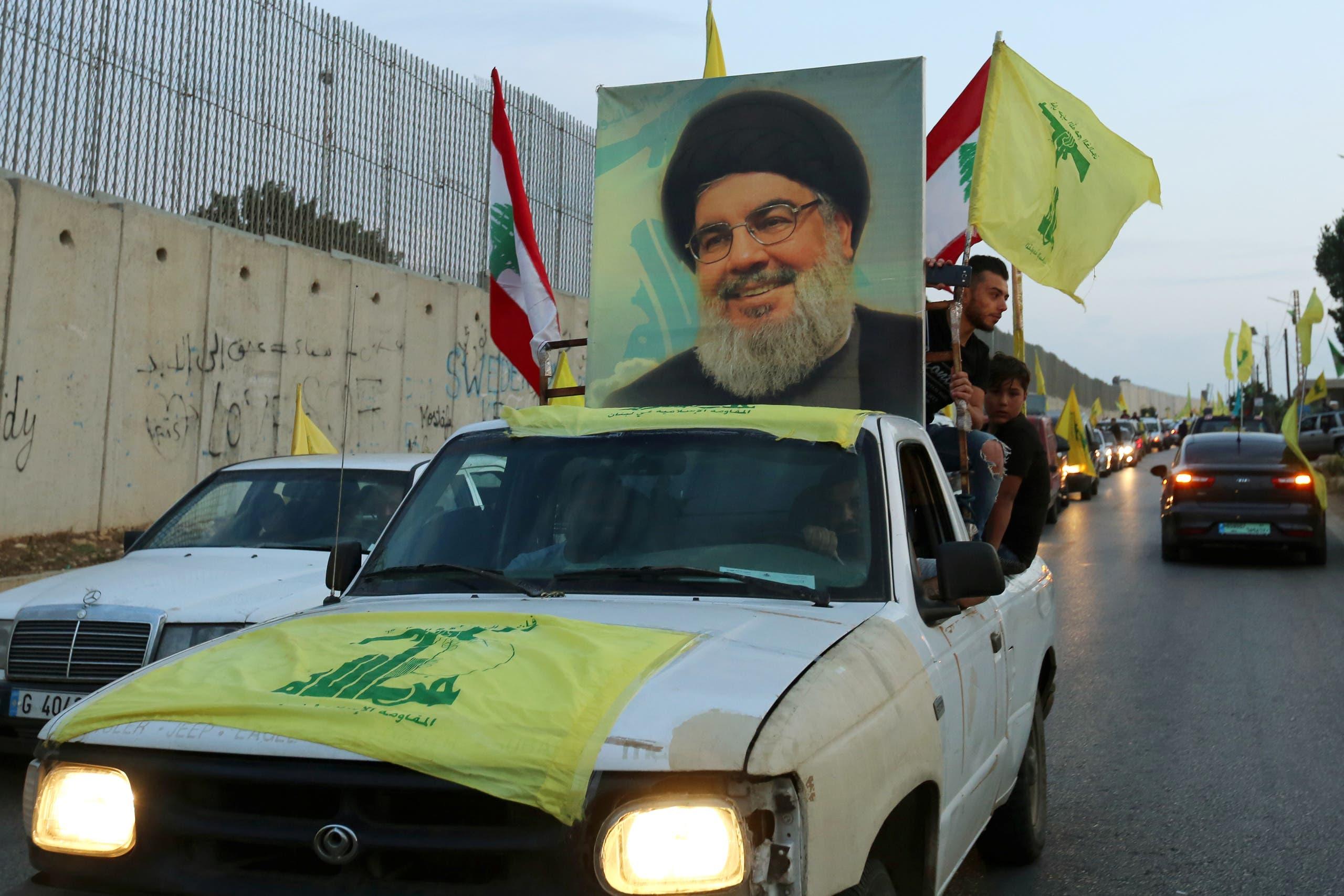 من مسيرات حزب الله في كفر كلا في الجنوب