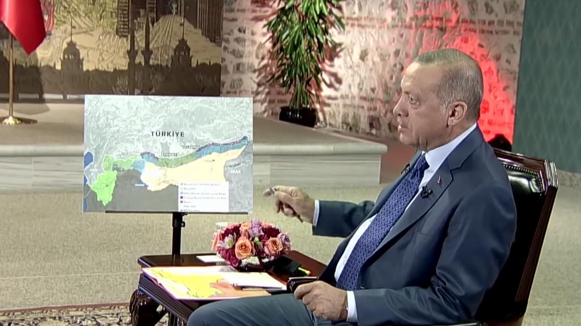 Erdogan on TRT (Screengrab)