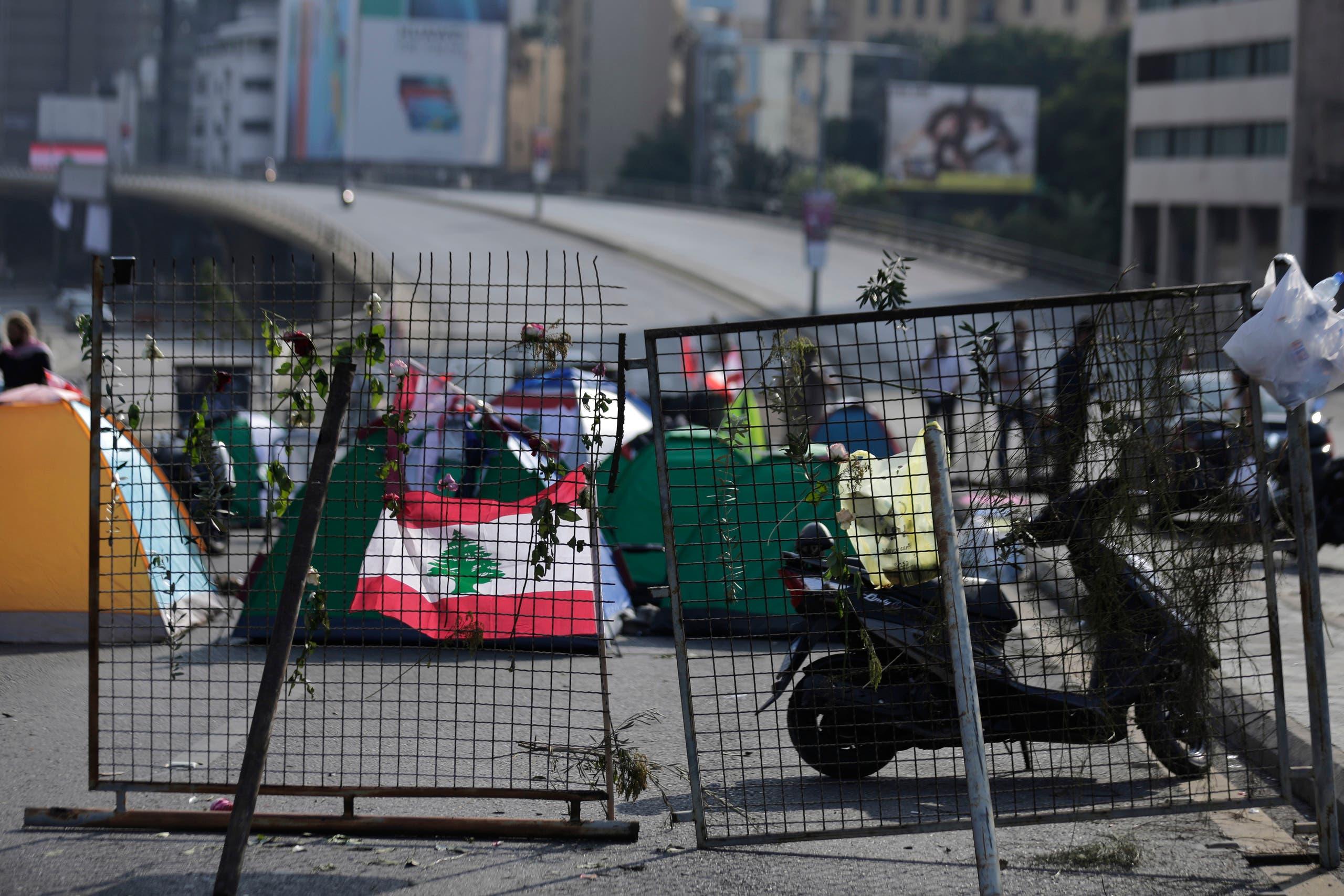 قطع الطرقات في بيروت