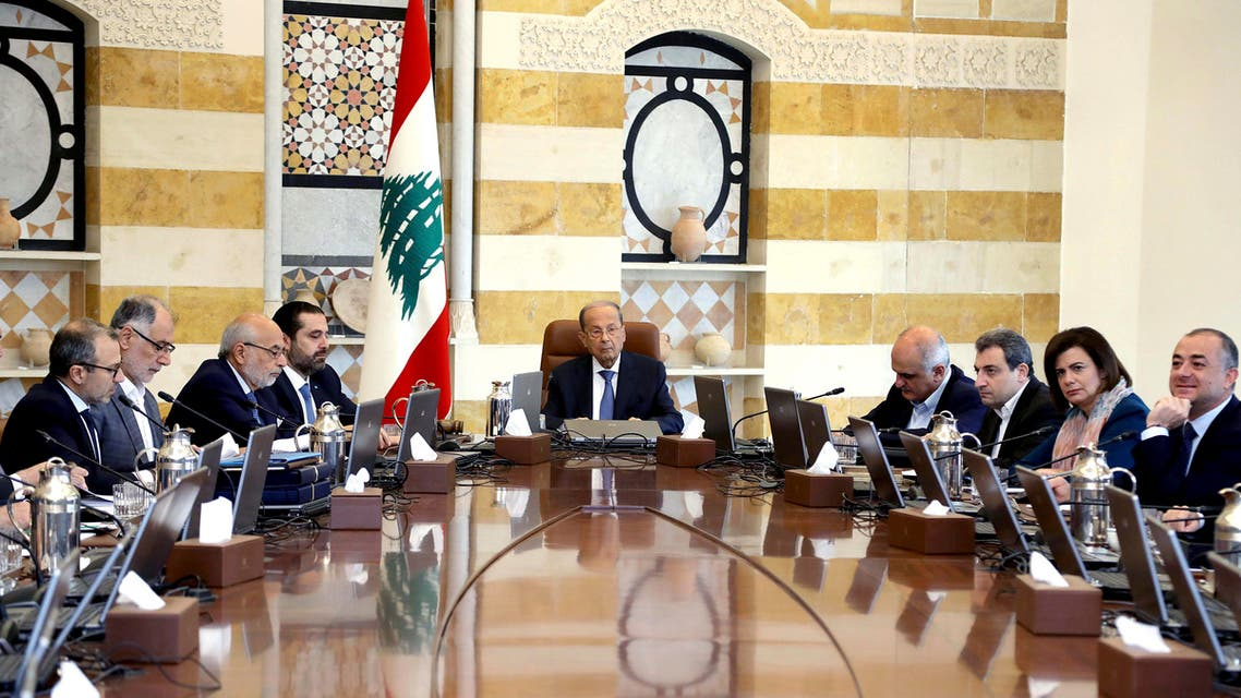 Lebanon cabinet meeting October 21 - AP