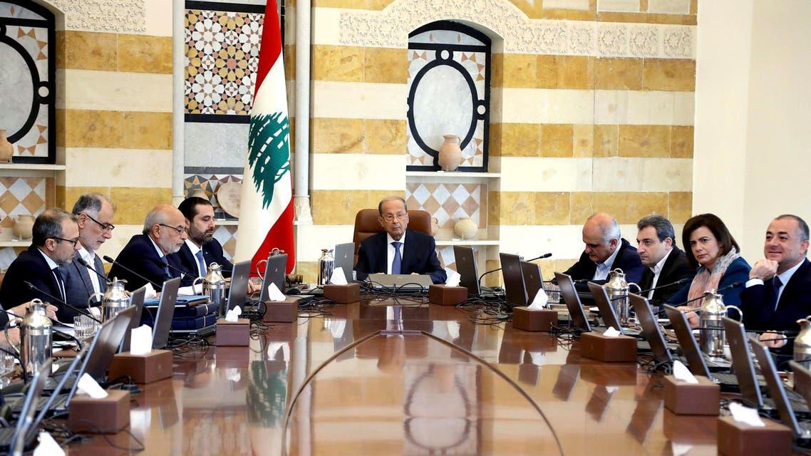 Lebanon cabinet meeting October 21 - AP