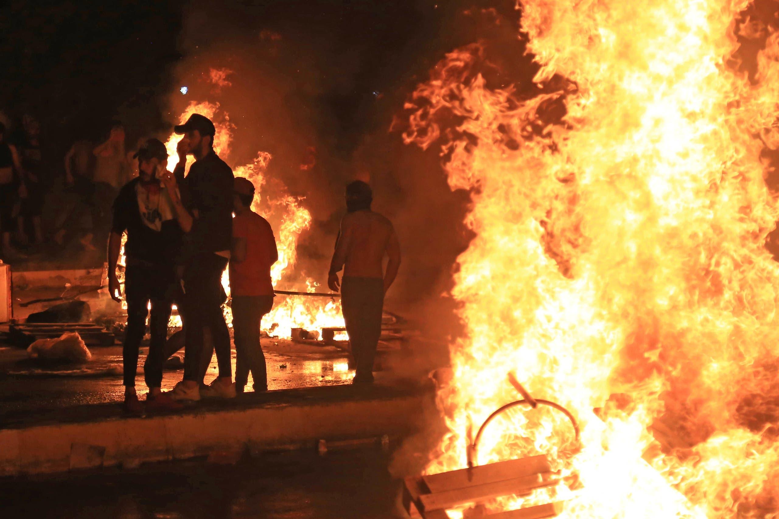 حرائق في كربلاء الجمعة