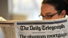 UK's Telegraph newspaper put up for sale: Report