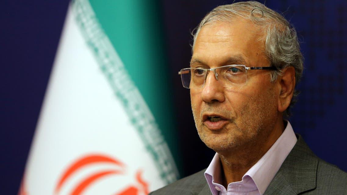 Iran government spokesman Ali Rabiei AFP