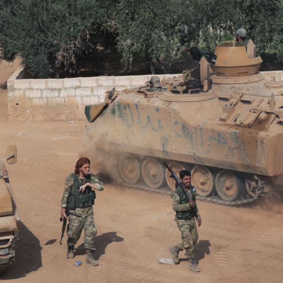 شمال سوريا.. طائرات مجهولة تقصف وأتباع تركيا يستنفرون