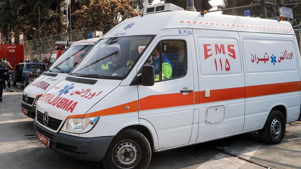 Iran ambulances ambulance hospital - AFP