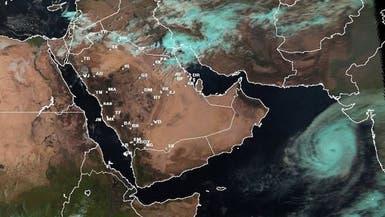 """أرصاد السعودية: """"كيار"""" تحول لإعصار من الدرجة الرابعة"""
