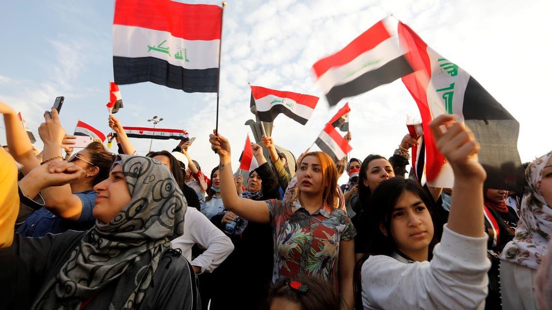 من تظاهرات العراق(27 أمتوبر فرانس بسر)