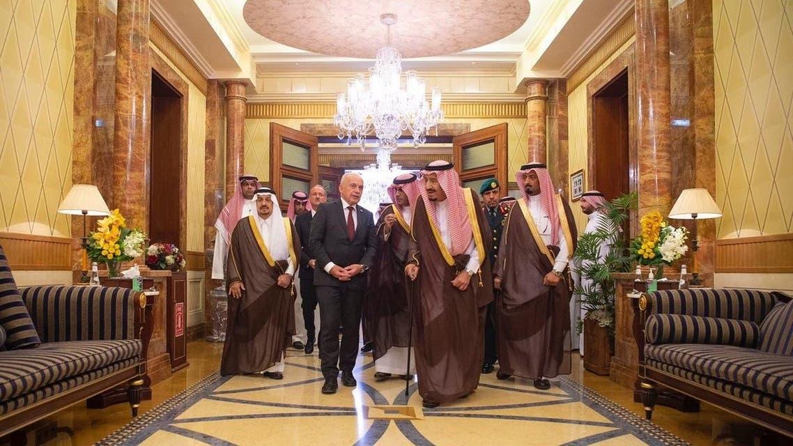 مباحثات سعودية سويسرية