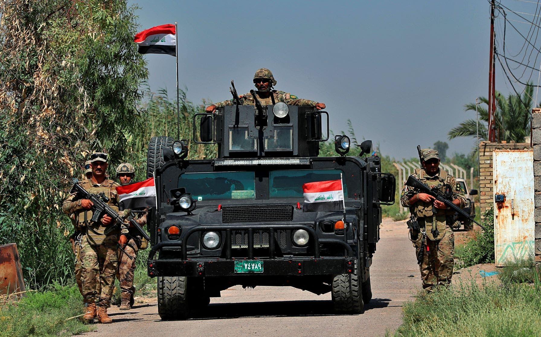 قوات عراقية في حملة ضد داعش(أسوشيتد برس)
