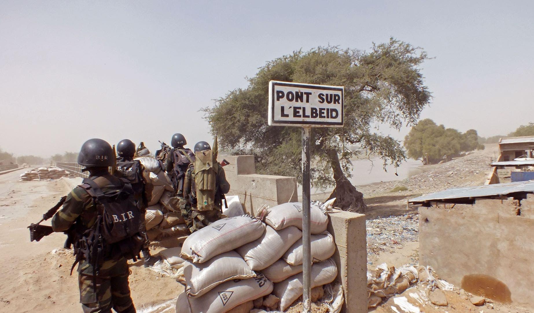قوات كاميرونية في حملة ضد داعش(اسوشيتد برس)