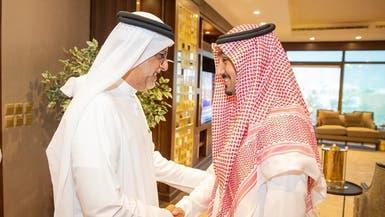 عبدالعزيز الفيصل يستقبل رئيس الاتحاد الآسيوي