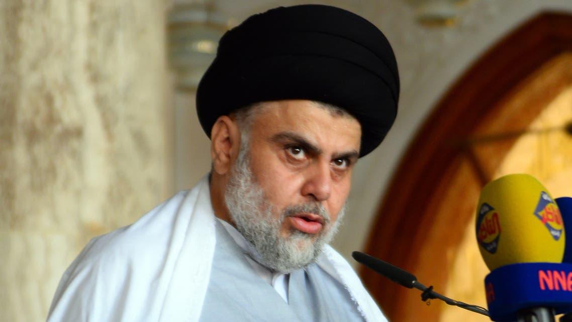 Iraqi Shiite cleric and political leader Moqtada al Sadr MAY 2019 REUTERS