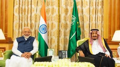 بيان سعودي - هندي: الاتفاق على ضمان أمن الممرات المائية