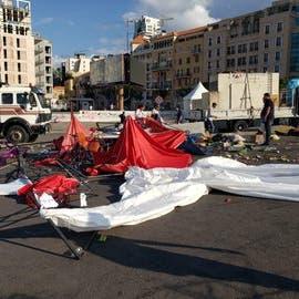 هذا ما حصل ببيروت.. سرايا حزب الله غزت المعتصمين