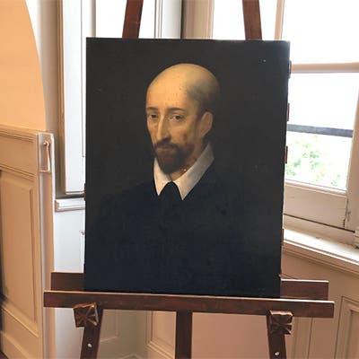 لوحة غامضة قد تكون بورتريه لماكيافيلي من رسم دا فينتشي