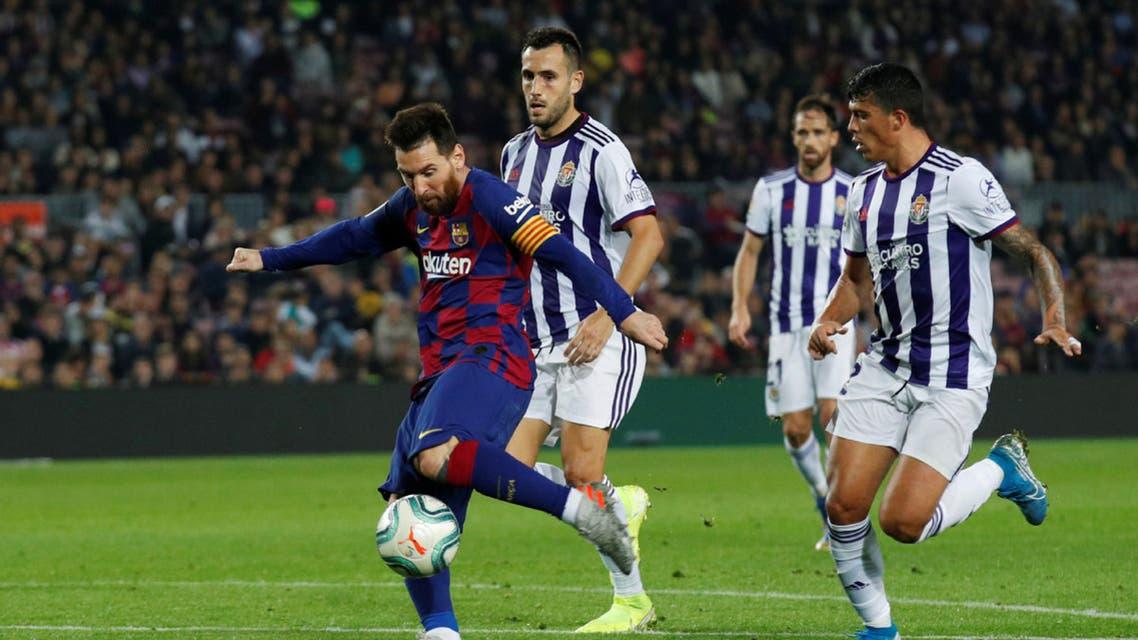 ميسي برشلونة بلد الوليد