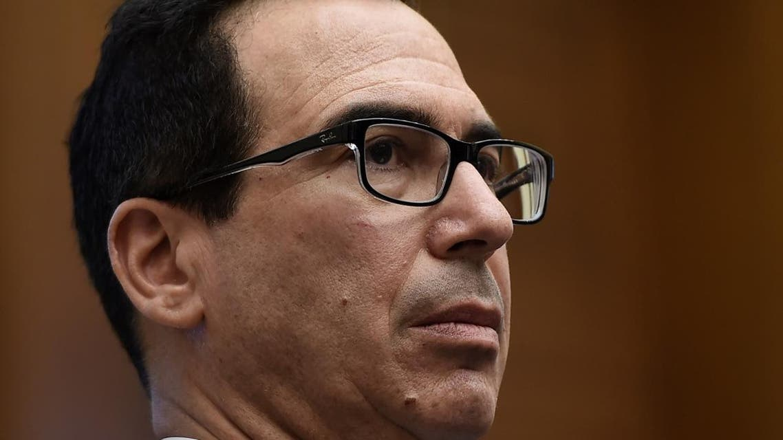 US Treasury Secretary Steven Mnuchin looks on during a House Financial Services Committee hearing in Washington, DC. (File photo: AFP)