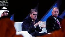 US Energy Secretary Rick Perry goes 'off-script' at climate debate in Riyadh