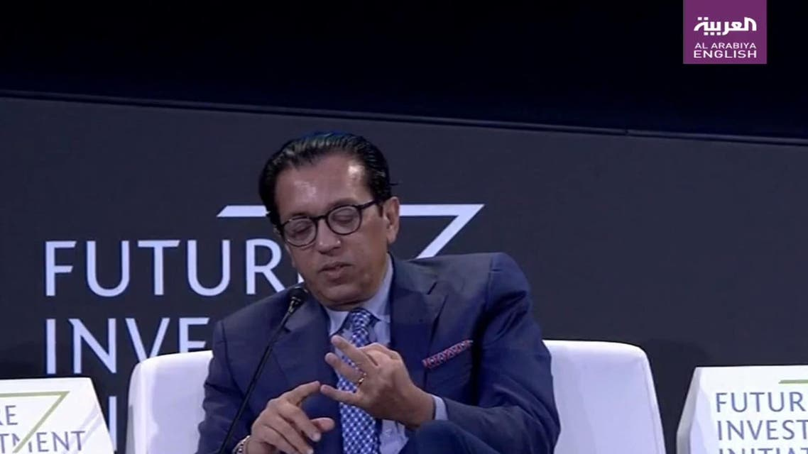 Softbank CEO Misra at FII