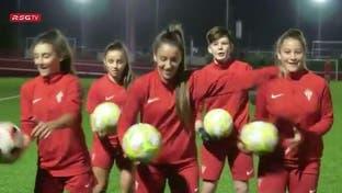 زنان فوتبالیست ادعای مجری ورزشی را به چالش کشیدند