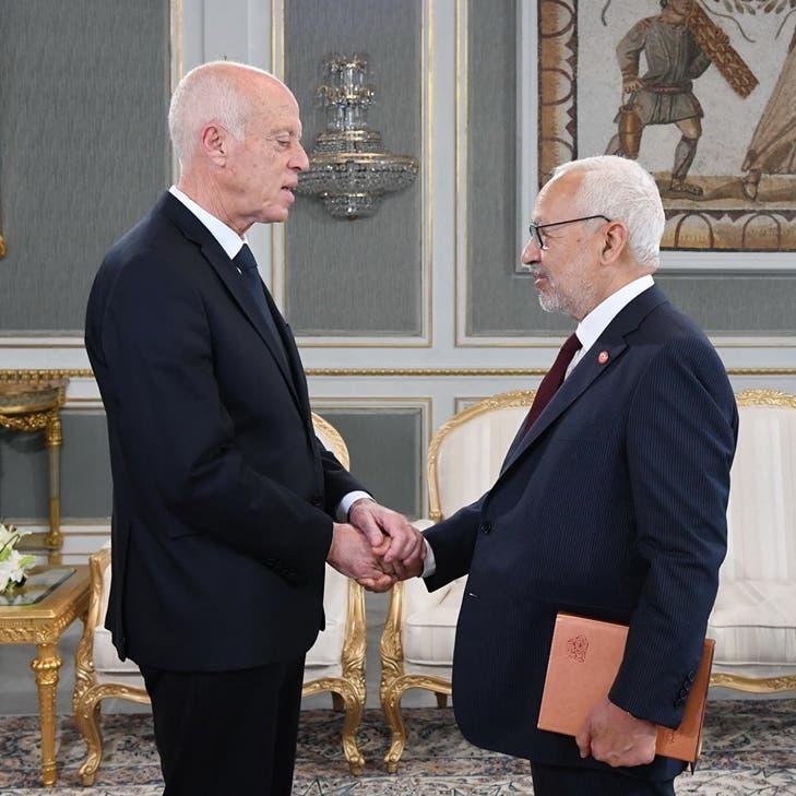 الغنوشي عن علاقة البرلمان التونسي بالرئاسة: الصراع عنيف
