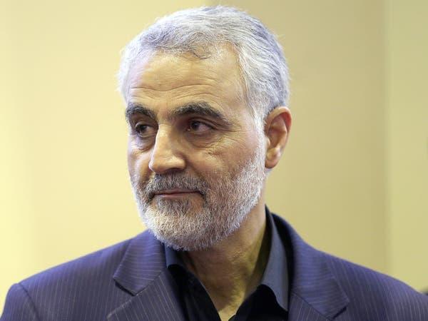 ظل إيران في العراق.. سليماني يجتمع بقادة أمنيين