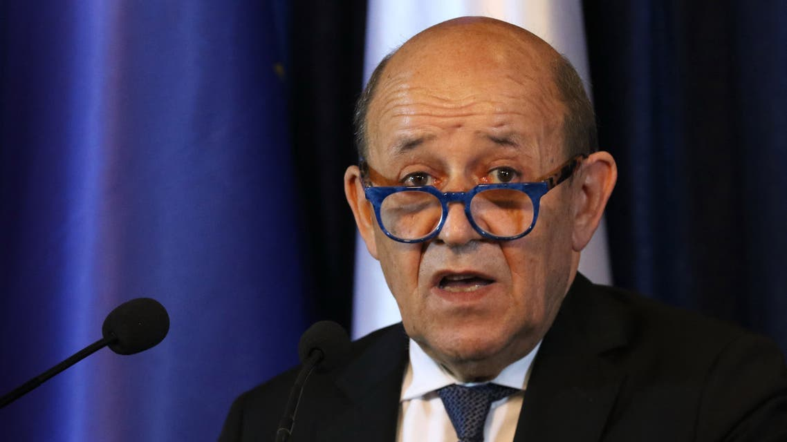 French Foreign Affairs Minister Jean-Yves Le Drian AFP