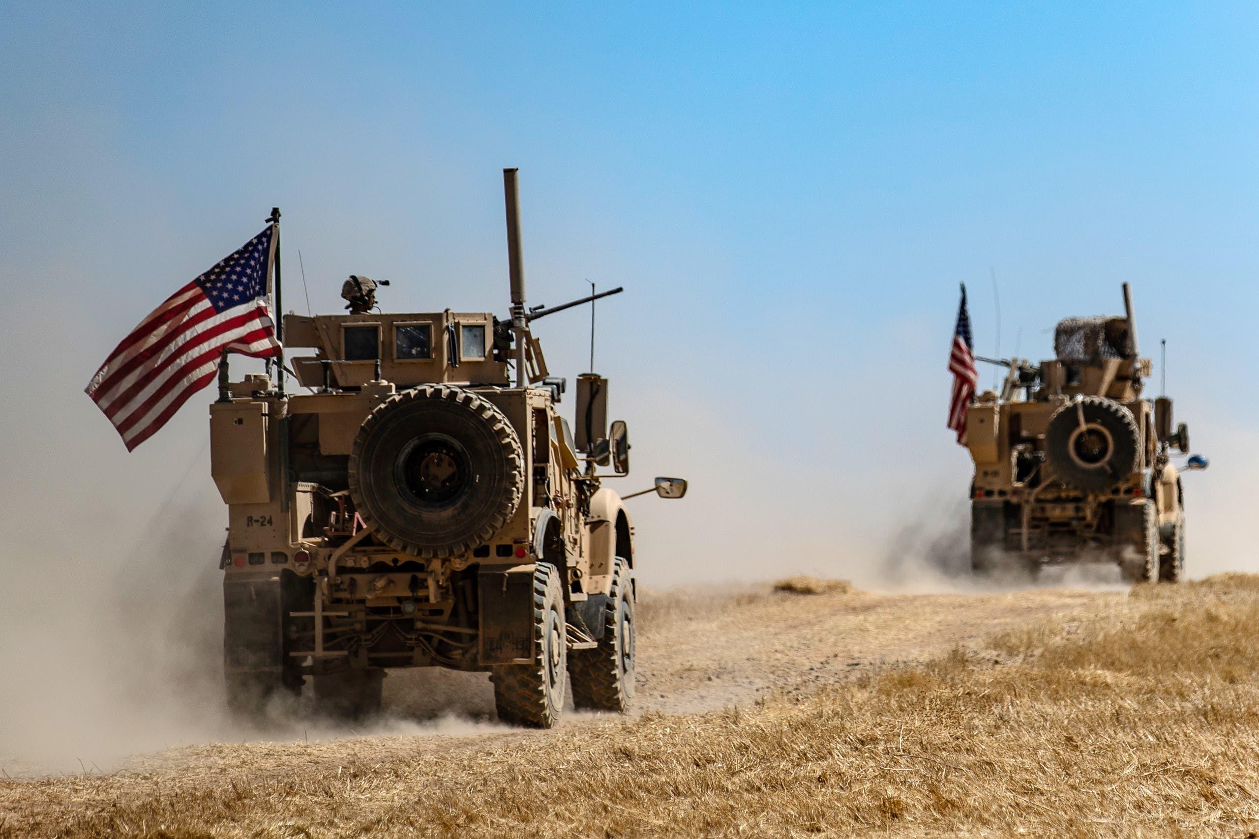 دورية مشتركة أميركية تركية في تل أبيض بسوريا