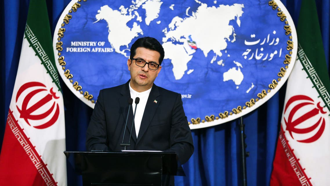 Abbas Mousavi spokesman for Iran Foreign Ministry May 2 2019 AFP